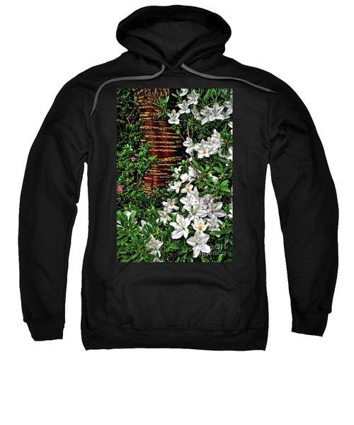 Botanic Garden Flowers Sweatshirt