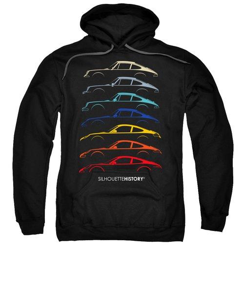 Boxer Sports Car Silhouettehistory Sweatshirt