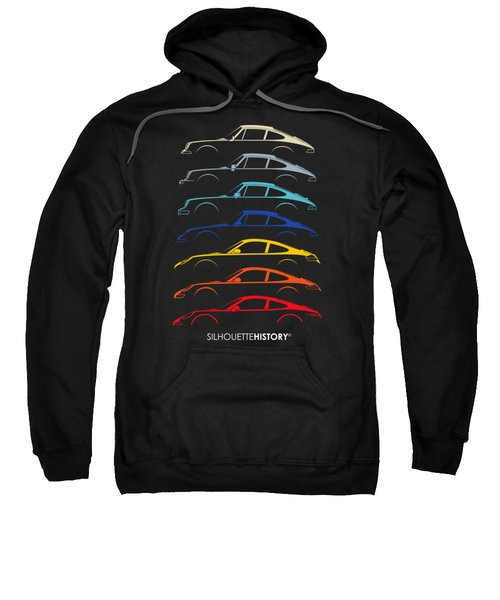 Boxer Sports Car Silhouettehistory Sweatshirt