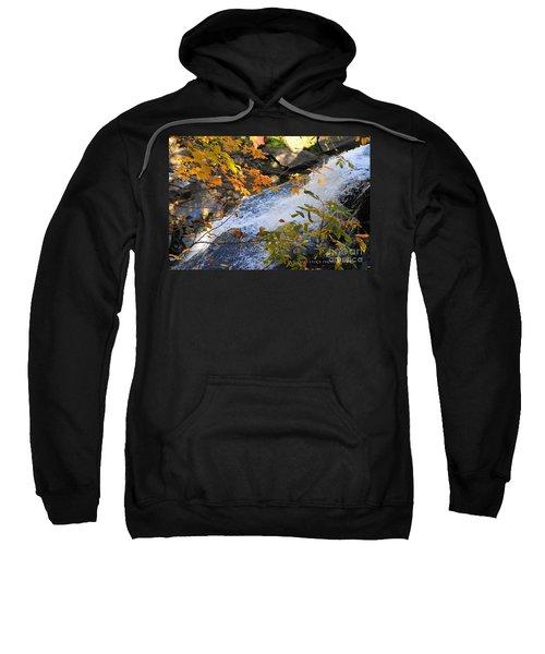 D30a-18 Brandywine Falls Photo Sweatshirt