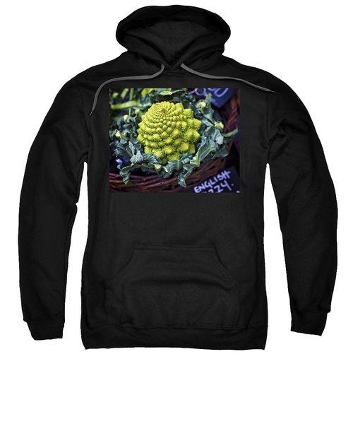 Brassica Oleracea Sweatshirt by Heather Applegate