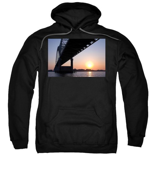 Bridge Over Mississippi River Sweatshirt