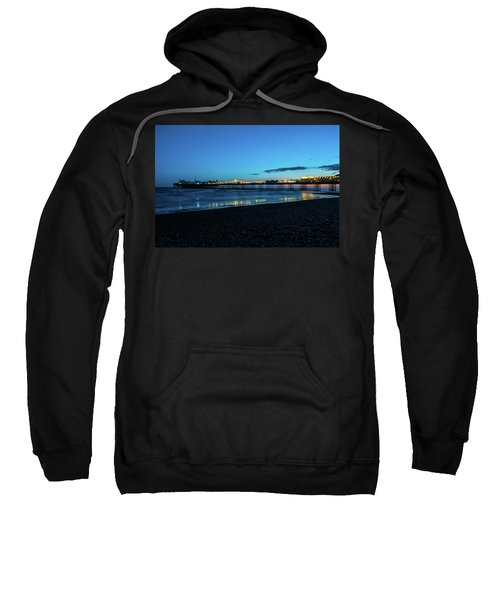 Brighton Pier At Sunset Ix Sweatshirt