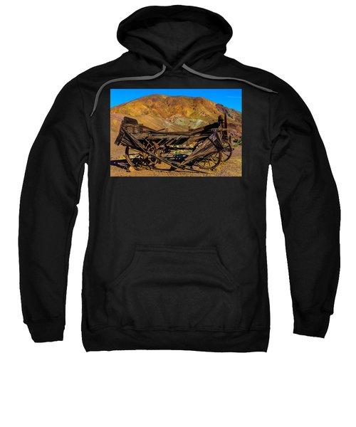 Broken Wooden Wagon Sweatshirt