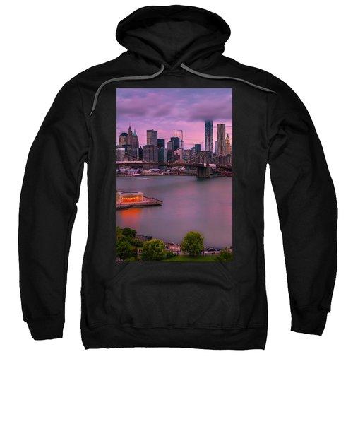 Brooklyn Bridge World Trade Center In New York City Sweatshirt