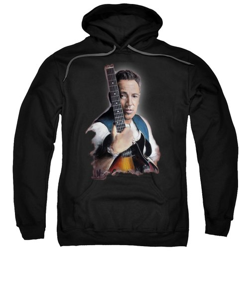 Bruce Springsteen Sweatshirt by Melanie D