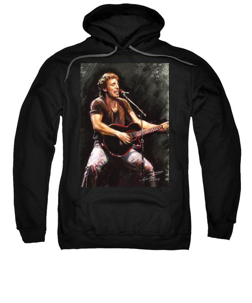 Bruce Springsteen  Sweatshirt by Ylli Haruni