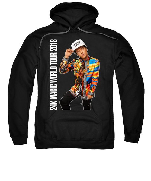 Bruno Mars 24k Magic Tour 2018 Ysf01 Sweatshirt