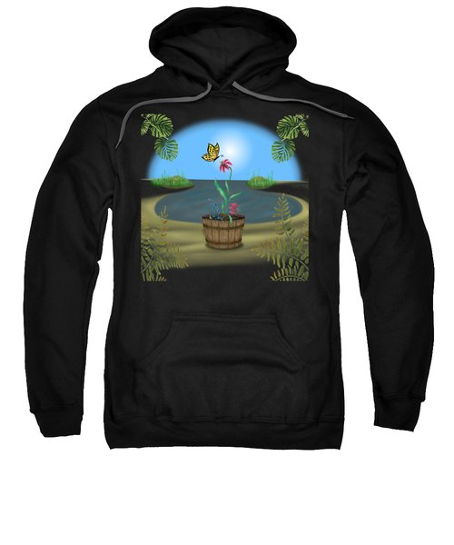 Bucket Butterfly Sweatshirt