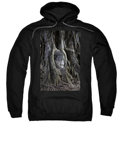 Buddha Head In Tree Sweatshirt