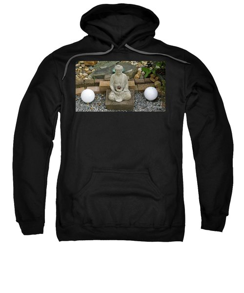 Buddha In The Garden Sweatshirt