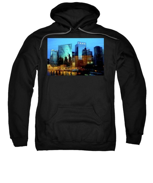 Reflections On The Canal Sweatshirt