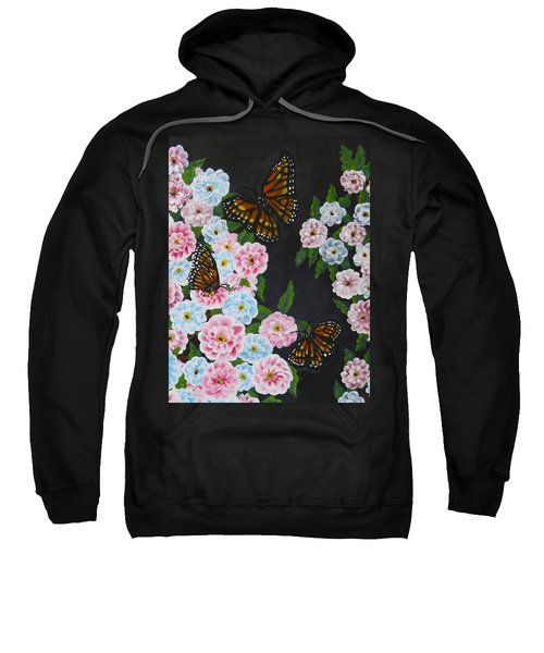 Butterfly Beauty Sweatshirt by Teresa Wing