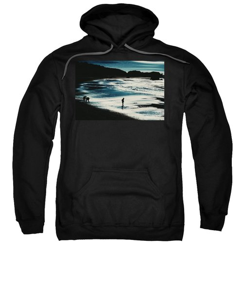 By The Light Of The Silvery Moon Sweatshirt