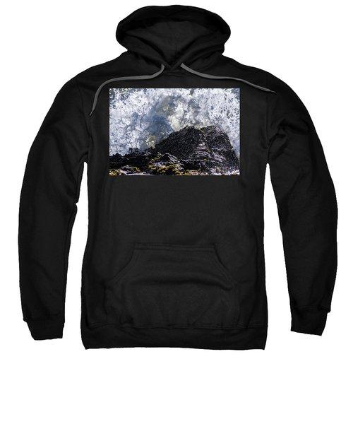 California Coast Wave Crash 5 Sweatshirt