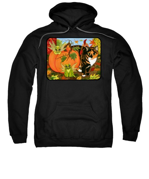 Calico's Mystical Pumpkin Sweatshirt