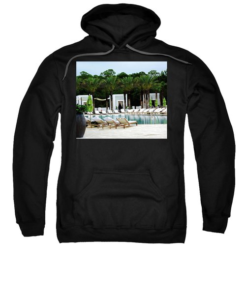 Caliza Pool In Alys Beach Sweatshirt
