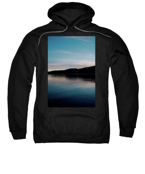 Calm Blue Lake Sweatshirt