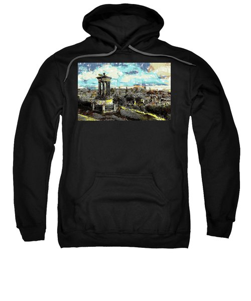 Calton Hill Edinburgh Sweatshirt