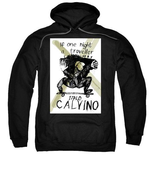 Calvino Traveller Poster  Sweatshirt
