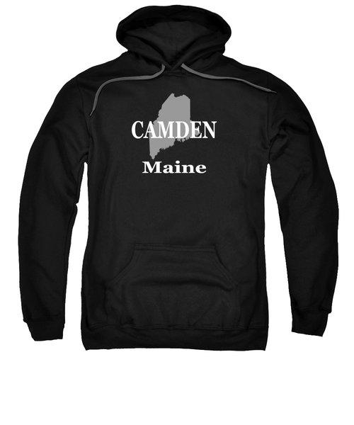 Camden Maine State City And Town Pride  Sweatshirt