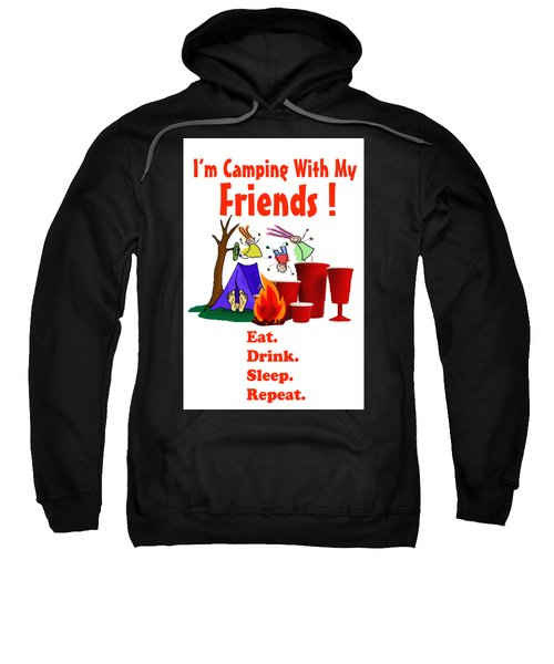 Camping T Shirt Sweatshirt