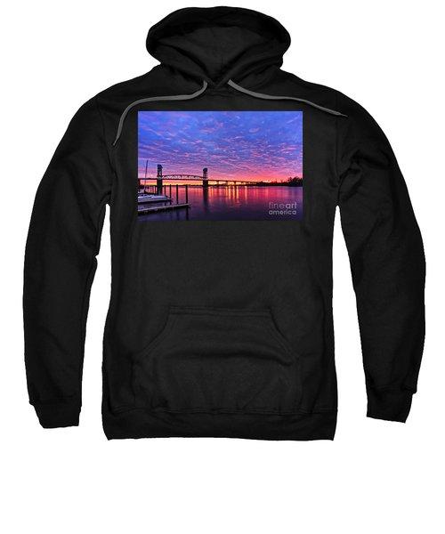 Cape Fear Bridge1 Sweatshirt