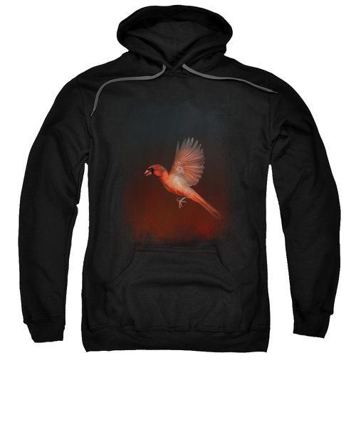 Cardinal 1 - I Wish I Could Fly Series Sweatshirt by Jai Johnson