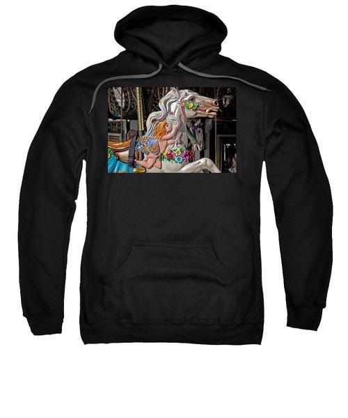 Carousel Horse And Angel Sweatshirt