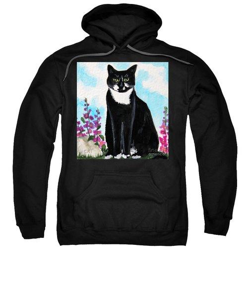 Cat In The Garden Sweatshirt