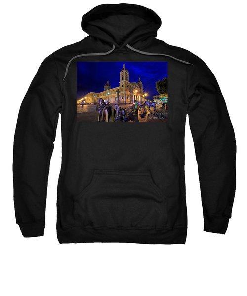 Cathedral Of Granada Shines Brightly Sweatshirt