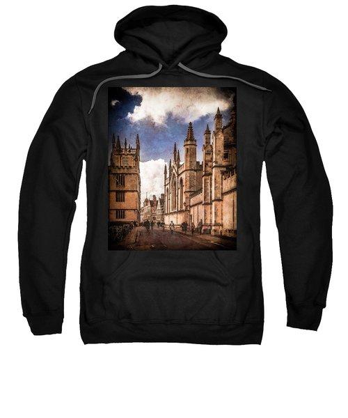 Oxford, England - Catte Street Sweatshirt