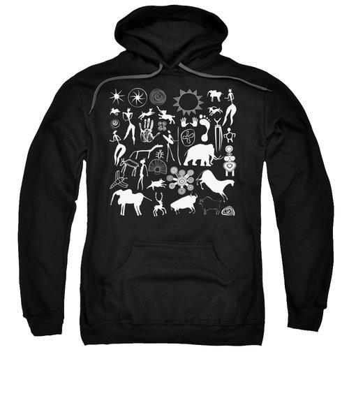 Cave Paintings - Aboriginal Art Sweatshirt