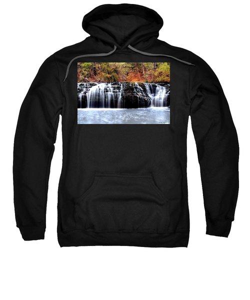 Cedar Creek Falls, Kansas Sweatshirt