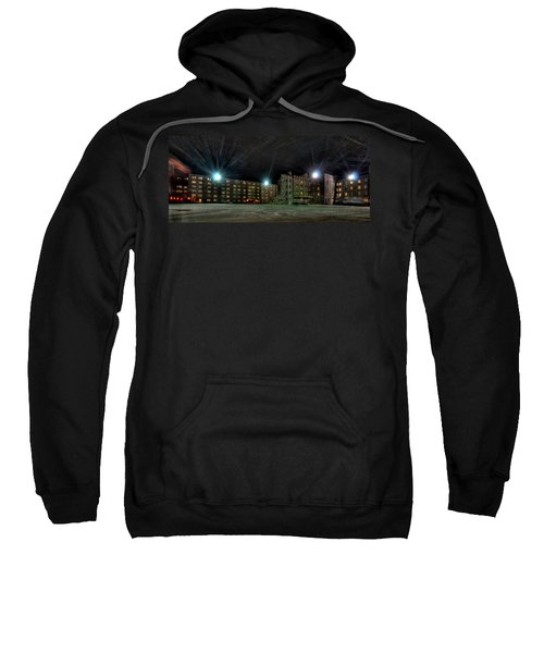 Central Area At Night Sweatshirt