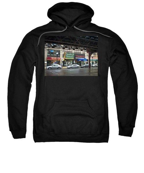 Central Camera On Wabash Ave  Sweatshirt