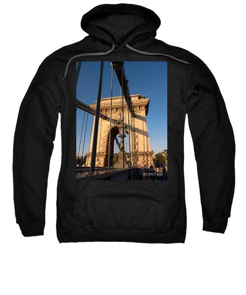 Chain Bridge Budapest  Sweatshirt