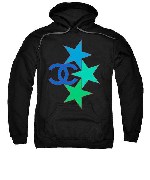 Chanel Stars-3 Sweatshirt