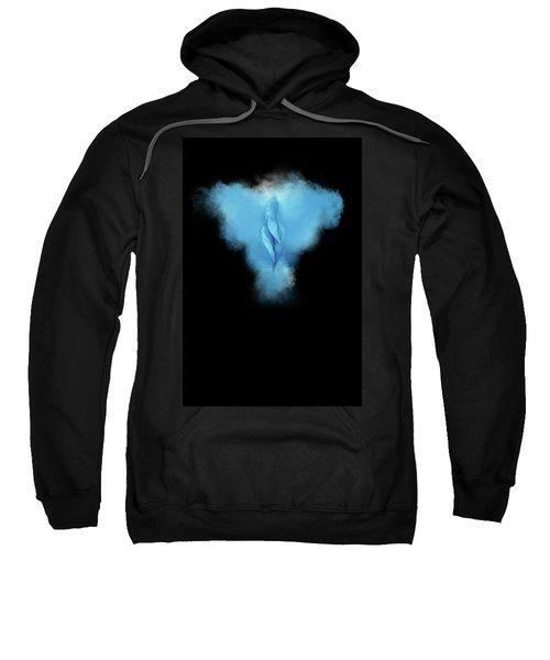 Charlize Blue Sweatshirt
