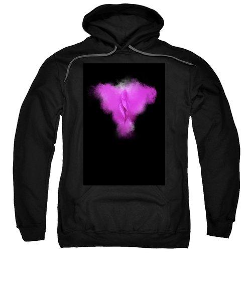 Charlize Purple Sweatshirt