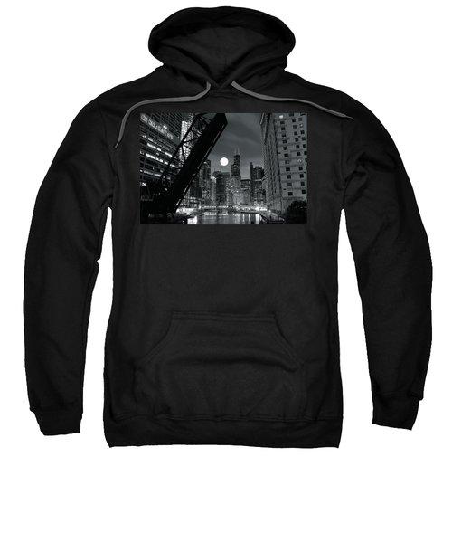 Chicago Black And White Nights Sweatshirt