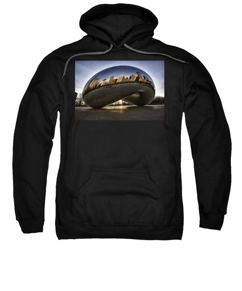 Chicago Cloud Gate At Sunrise Sweatshirt