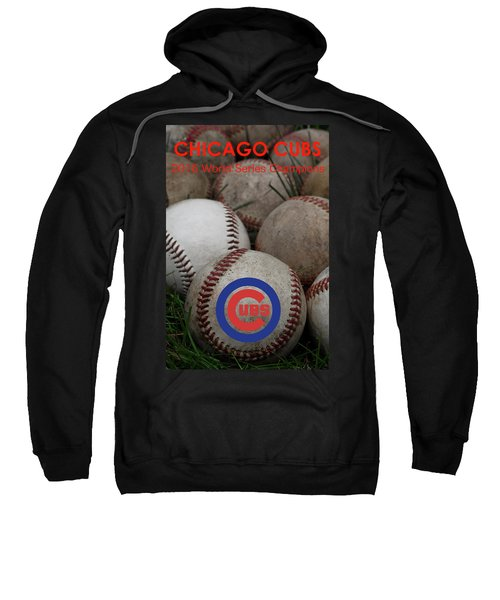 Chicago Cubs World Series Poster Sweatshirt