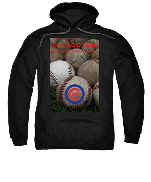 Chicago Cubs World Series Poster Sweatshirt
