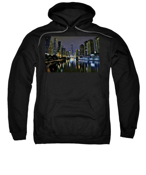 Chicago Night Lights Sweatshirt