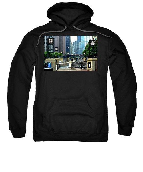 Chicago River Walk Invites You Sweatshirt