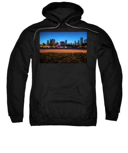 Chicago's Buckingham Fountain At Dusk  Sweatshirt