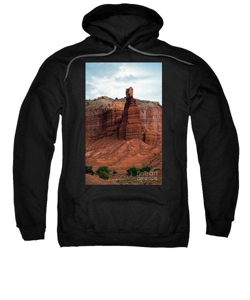 Chimney Rock In Capital Reef Sweatshirt