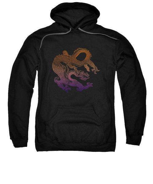 Chinese Dragon Sweatshirt by Illustratorial Pulse