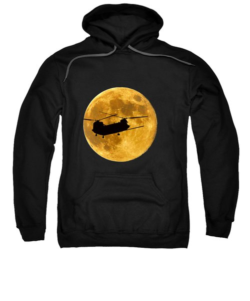 Chinook Moon Color .png Sweatshirt by Al Powell Photography USA